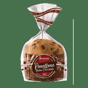 Panetone Romanato Pollide Gotas Chocolate 400g
