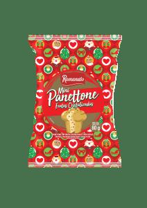 Mini Panetone Romanato Frutas Cristalizadase 80g