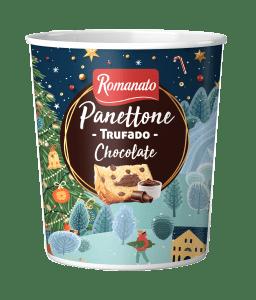 Panetone Trufado Romanato Chocolate 400g